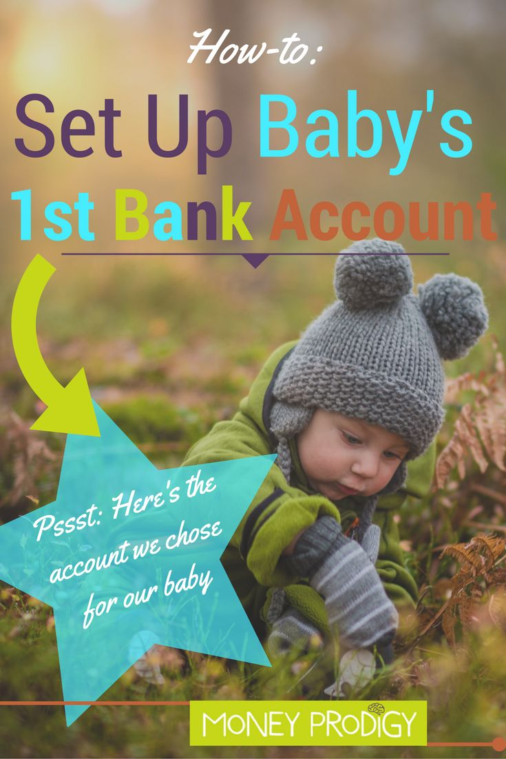 Bank accounts to have for kids? It's time to set up bank account for baby (or however old your baby now is). We tackle this task and give you several considerations (plus the bank that we chose) in this post. | http://www.moneyprodigy.com/setting-up-bank-account-for-baby/