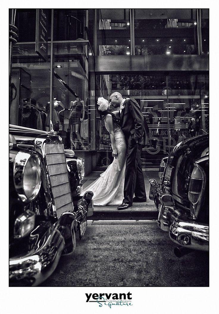 Melbourne Wedding Kiss
