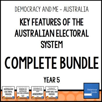 Key Features of Australian Electoral System COMPLETE BUNDL