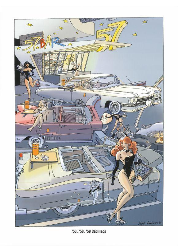 Franka: De Serie 4 De Auto's Amerikanen '50
