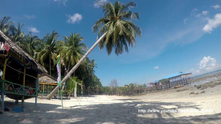 Pesona Keindahan Pulau Mubut darat di Batam