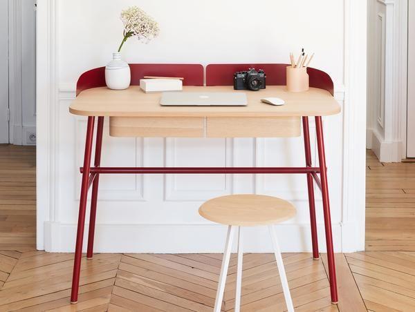 Victor Bureau Desk By Harto Desk Home Office Design Wood Desk