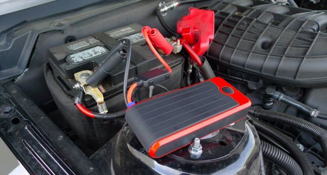 WANT one! --> This Portable USB Charger Battery Pack Can Also Jump Start Your Car