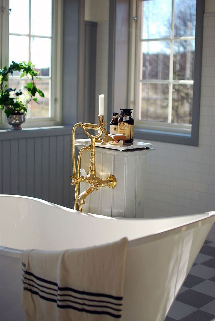 En första titt på badrummet