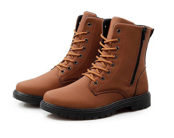 Mens Urban High-Top Boots