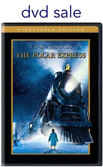 The Polar Express DVD Sale: $6.00! #Christmas #movies #thefrugalgirls