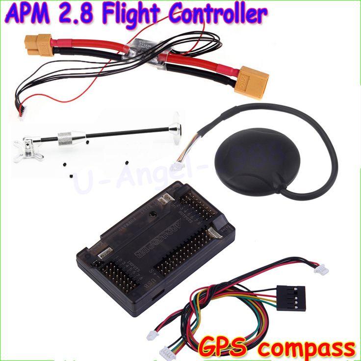 Wholesale  APM 2.8 ArduPilot Mega External Compass APM Flight Controller w/Ublox NEO-6M GPS RC Airplane Part Dropship