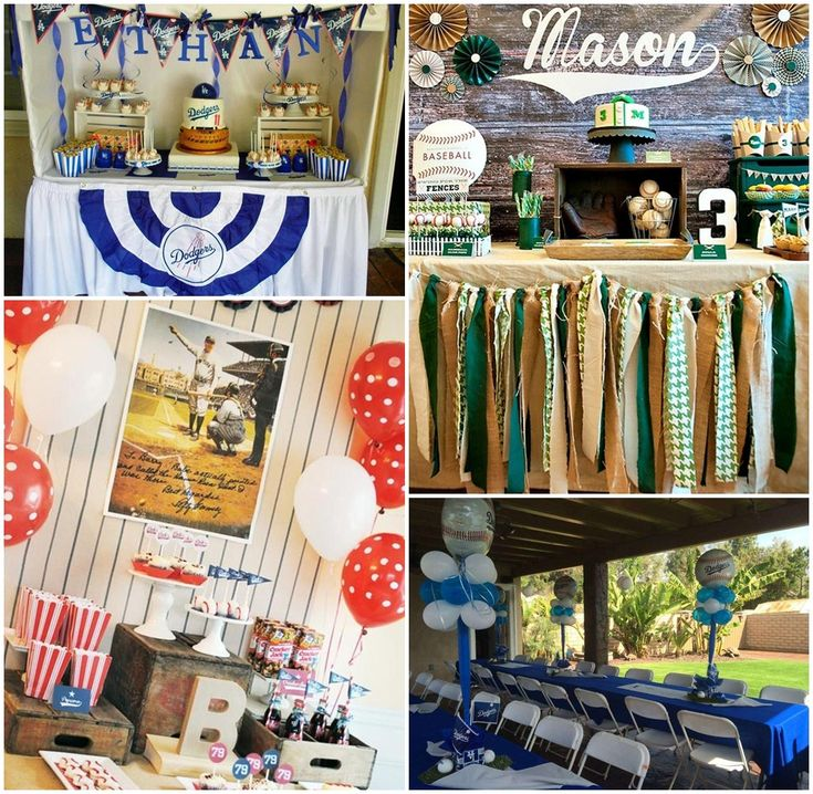 1000+ Ideas About Baseball Party Centerpieces On Pinterest