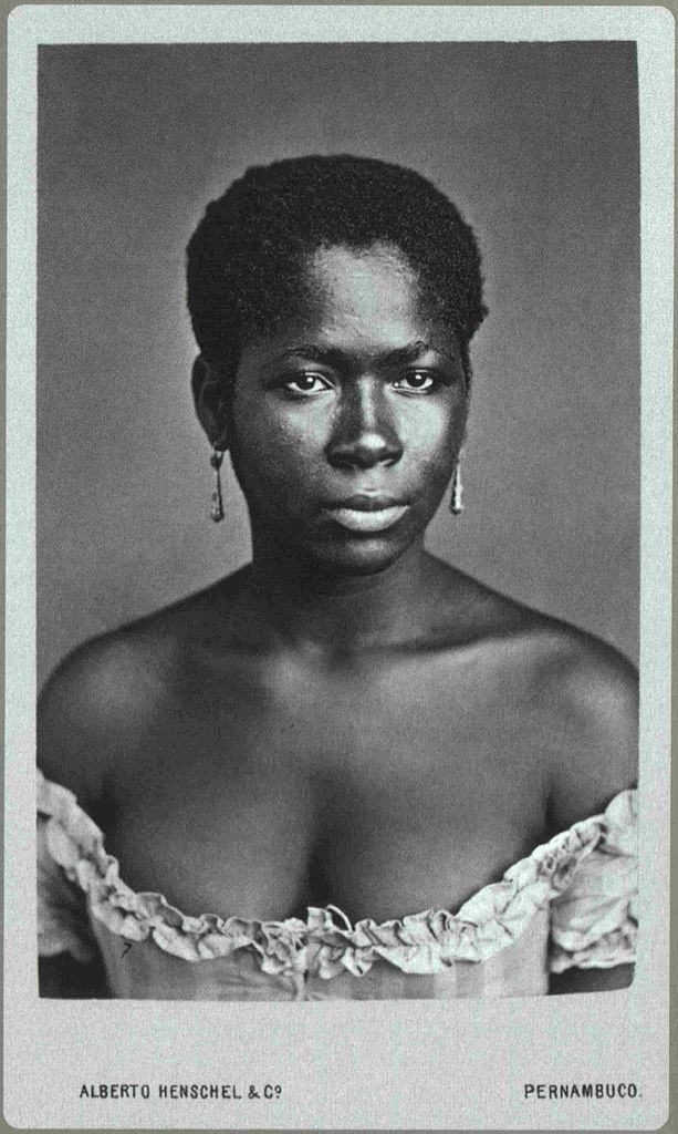 Black Pearl | People of the African Diaspora | 1870 Unidentified Afro-Brazilian Woman. Photography by Alberto Henschel Pernambuco