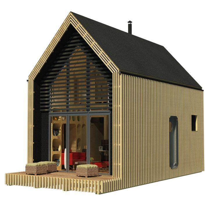 Tiny House Alice. Check My Tiny House Floor Plans On Website!