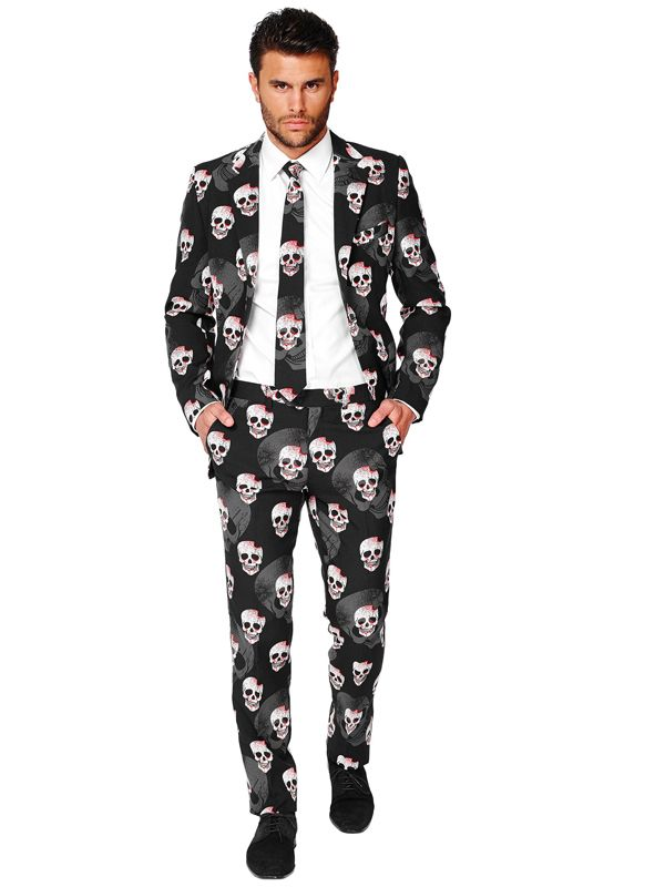 Opposuit Skulleton - Kul dress til halloween
