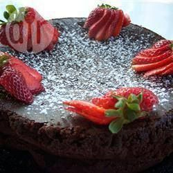 Torta de Chocolate Sin Harina @ allrecipes.com.ar