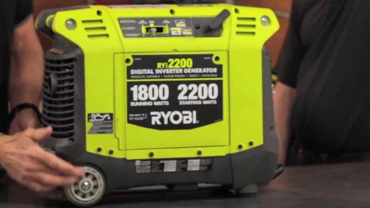 RYOBI Quiet Portable Generator Inverter RYi2200 Review - $599