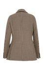 Double Breasted Herringbone Wool Blazer by | Moda Operandi