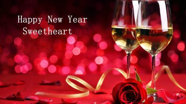 Happy New Year Wallpaper 2018 For Mobile with Quote Images