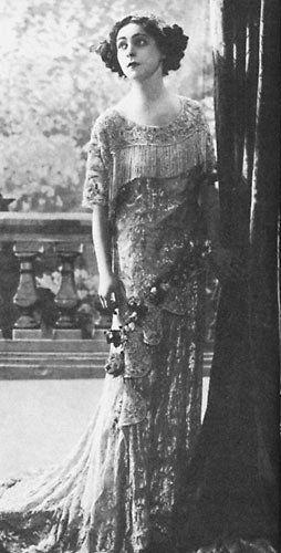 "1911: Alla Nazimova in the Broadway play, ""The Marionettes"""