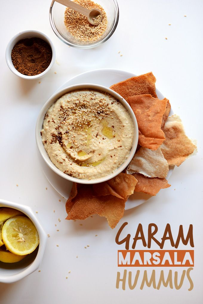 Garam Marsala Hummus | via minimalistbaker.com Brace yourself everyone; I love this site, pins incoming.