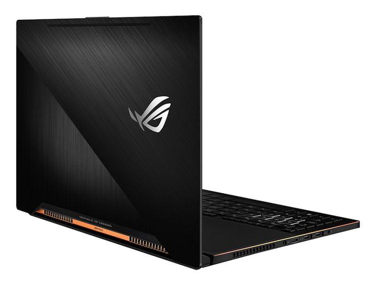 ASUS presenta el notebook Zephyrus, un terminal gamer más delgado del mundo con la tarjeta NVIDIA GTX 1080.