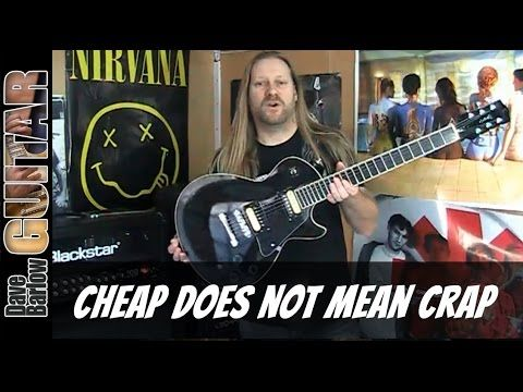 Cheap Guitars, what to buy and are they any good. PRS Tremoniti Meets Gibson Les Paul - YouTube