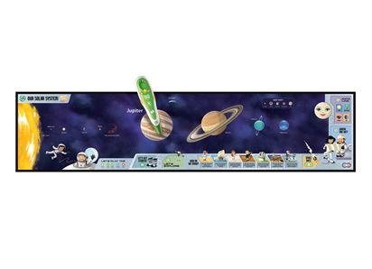 #LeapFrog TAG   Space science -   In space science children are taught about the different planets in our solar system and their moons as well as about our moon, the sun and the universe. The science of astronomy and space travel gets progressively more detailed and eventually incorporates physics and math.