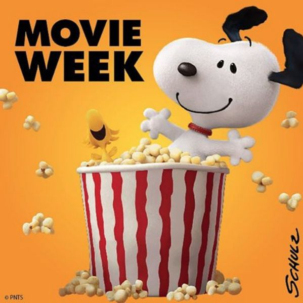 The Peanuts movie comes out this week!
