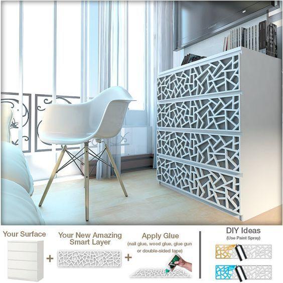 Verwandeln Sie Ihre IKEA® Möbel Mit Diesen Einfach Zu Gelten Overlays! Sie  Werden Von