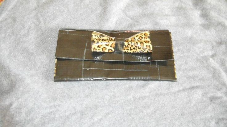 a Duct tape clutch/wallet