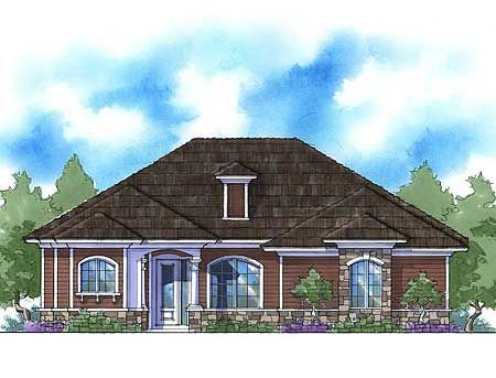 Plan 33025zr energy smart 3 bedroom home plan house for Nice 3 bedroom house plans