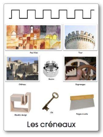 Affichages pour compléter le répertoire de formes élaboré à partir des trouvailles de la classe. Affichage graphisme maternelle, 12 formes graphiques
