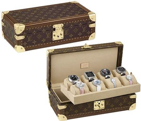 Whats having all these watches unless you have a suitable Watch case to display them.