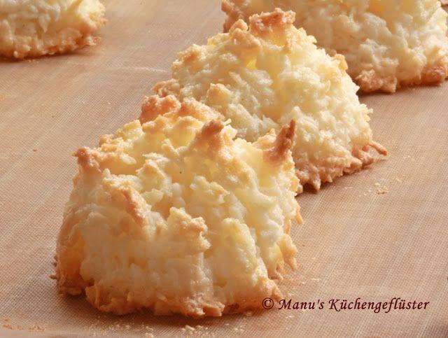 Manus Küchengeflüster: Kokosnuß-Makronen