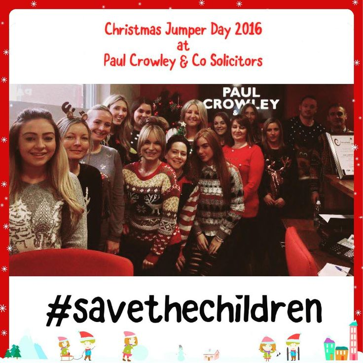 cool We've had a fantastic day wearing our Christmas jumpers and raising money for @s... Euro Media