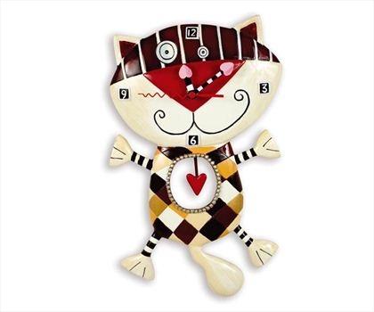 Heart Of Checkers Duvar Saati 129.90 TL
