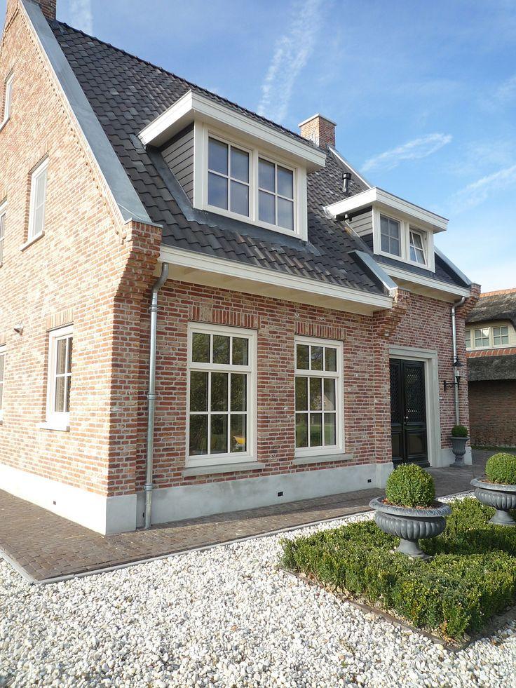 41 best huis buitenkant images on pinterest - Modern stenen huis ...