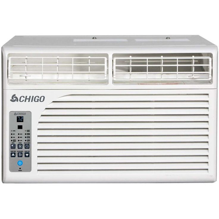 Chigo Energy Star 12,600 BTU Window Air Conditioner with Remote, White