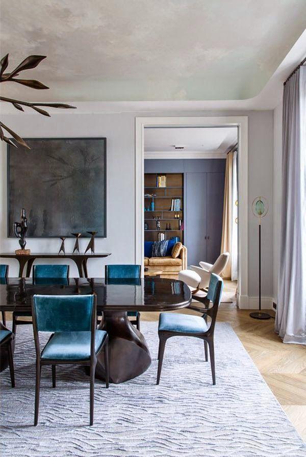 25 best modern dining table furniture designs images on pinterest modern dining table for Interiors modern home furniture woodbridge va