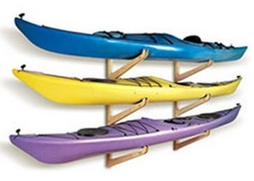 A Wall Kayak Rack For Your Home Or Garage.