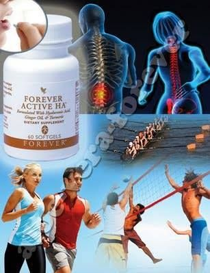 Forever Active HA contains a special formula based on low molecular weight hyaluronic acid , with moisturizing and lubricating oil, ginger and turmeric - these components make it one of the best supplements for joint function and the elasticity of the skin you can find on the market. Take Forever Active Ha orally allows you to benefit from the properties of hyaluronic acid in all parts of the body that need it!   rosariver.flp.com