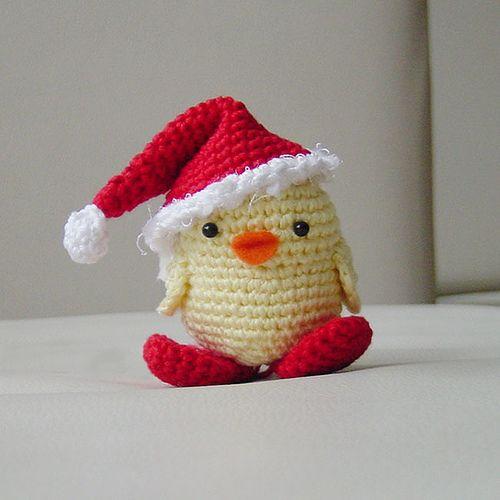 holiday chick (free pattern @ ravelry)
