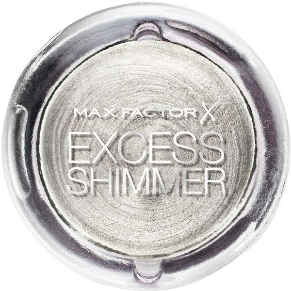 Max Factor Excess Shimmer Eyeshadow Lidschatten Lidschatten online... ($60) ❤ liked on Polyvore featuring beauty products