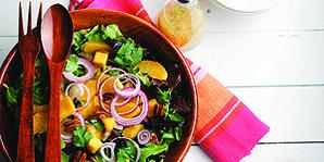 Mixed Greens, Mango and Pecan Salad   Canadian Diabetes Association