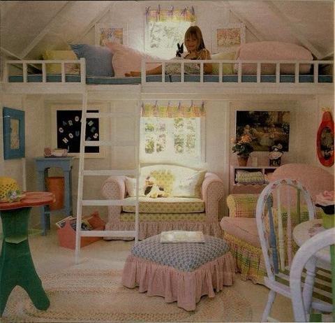 Another kids loft idea