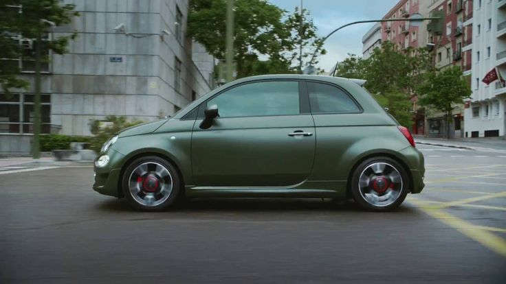 """New Fiat 500S commercial """"test"""".  Tested for bad boyS. 500S, What bad bo..."""