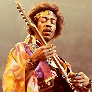 """Jimi Hendrix exploded our idea of what rock music could be: He manipulated the guitar, the whammy bar, the studio and the stage. On songs like """"Machine Gun"""" or """"Voodoo Chile,"""" his instrument is like a divining rod of the turbulent Sixties – you can hear the riots in the streets and napalm bombs dropping in his """"Star-Spangled Banner."""""""