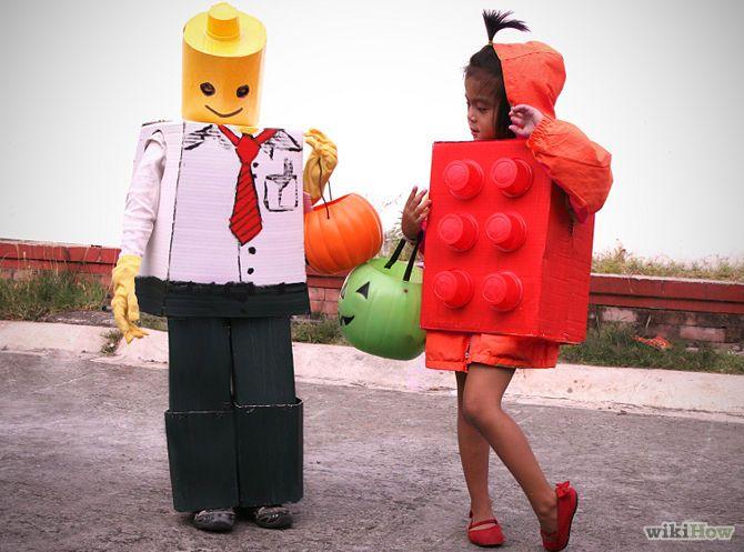 Disfraz de legos