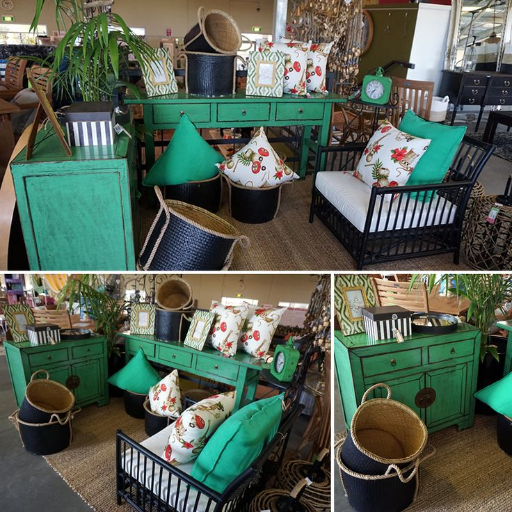 Add some colour to your room with beautiful wooden furniture now at Poppy's Home and Garden!