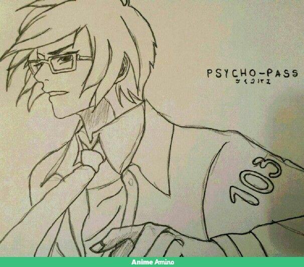 Psycho Pass-Ginoza Nobuchika (my own drawing)