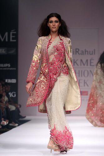 Abhi Rahul - India Fashion Week.  I want that jacket!