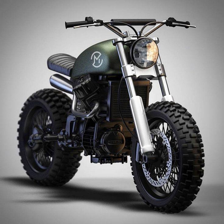 CX500 by Ziggy Moto