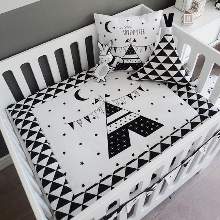 boxkleed zwart wit monochrome boxkleden tipi hip